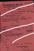 LANGRES DURCHLAKFCHEIN MEFT / LAISSER PASSER ALLEMMAND 1941 / MAD ABREVEUX / RANCONNIERES LANGRES - Old Paper