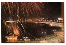 "Cpm "" KUWAIT - Anniversary Of Independence "" Feu D'Artifice - Photo Oscar Mitri - Koweït"