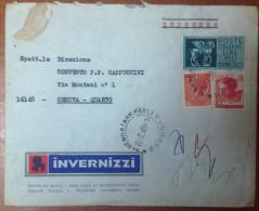 ITALIA REPUBBLICA 1968 INVERNIZZI ESPRESSO L 150 CON SIRACUSANA E MICHELANGIOLESCA - 1946-.. République