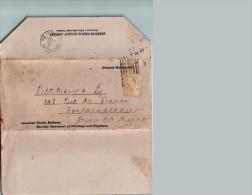 Lettre-pli  Du 28/11/1898 CANADIAN PACIFIC RAILWAY COMPANY - Montréal - Canada