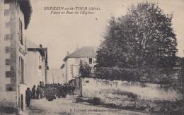 SEREZIN LA TOUR / RUE DE L'EGLISE /    PROCESSION - Unclassified