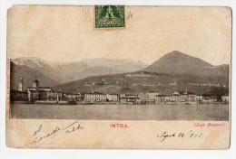 Intra Piemonte Cartolina Original Postcard Cpa Ak (W4_139) - Verbania