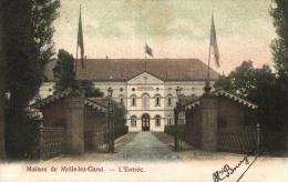 BELGIQUE - FLANDRE ORIENTALE - MELLE - Maison De Melle-lez-Gand - L'Entrée. - Melle