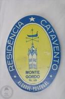 Hotel Monte Gordo, Algarve - Portugal - Original Hotel Luggage Label - Sticker - Hotel Labels