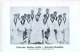 AK MISSIONEN BENGALSKA MISIJA Die Jungs In Bengali Bengali INDIEN MISSION JOZKO VIZJAK SLOWENIEN ALTE POSTKARTEN - Missions