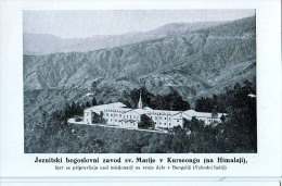 AK MISSIONEN SLOWENIEN BENGALSKA MISIJA Bengali MISSION JEZUITSKI ZAVOD SV.MARIJE KURSEONG Himalaya Himalayas - Missions