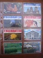 Lot De 11 Télécartes Thaïlande Thèmes Variés - Thaïlande