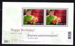 2006  80è Ann. Elizabeth II  Feuillet Sc 2150 ** - Neufs