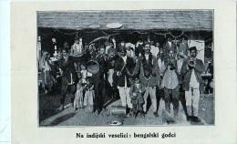 AK MISSIONEN SLOWENIEN BENGALSKA MISIJA Bengali MISSION SLOWENIEN MISSIONARISCHE,INDIAN FEIER ALTE POSTKARTE - Missionen