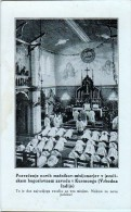 AK MISSIONEN SLOWENIEN BENGALSKA MISIJA Bengali MISSION KURSEONG INDIEN  ALTE POSTKARTE - Missionen