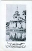 AK MISSIONEN SLOWENIEN BENGALSKA MISIJA Bengali MISSION Missionsstationen KIRCHE RAGAPUR KALKUTA ALTE POSTKARTE - Missionen