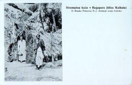 AK MISSIONEN SLOWENIEN BENGALSKA MISIJA Bengali MISSION Die Armen Und Kranken RAGAPUR KALKUTA ALTE POSTKARTE - Missionen