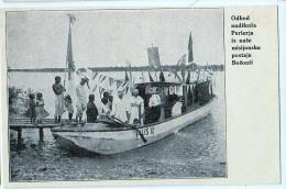 AK MISSIONEN SLOWENIEN BENGALSKA MISIJA Bengali MISSION BOOT DURCH DEN FLUSS ALTE POSTKARTEN - Missionen