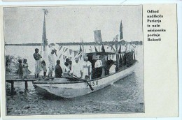 AK MISSIONEN SLOWENIEN BENGALSKA MISIJA Bengali MISSION BOOT DURCH DEN FLUSS ALTE POSTKARTEN - Missions