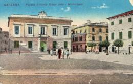 CPA SARZANA (Italie Liguria) Piazza Vittorio Emanuele Municipio - Italie
