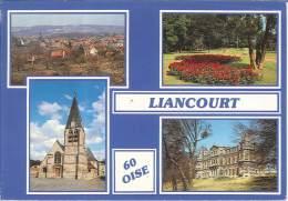 CPM 60 - Liancourt - Vue Générale - Le Parc - L'Eglise - Le Château Latour - Liancourt