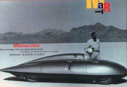 [DC1007] CARTOLINEA - MITOMACCHINA - STORIA DEL DESIGN DELL'AUTO - MUSEO ARTE MODERNA - MART - TRENTO - Musées