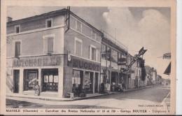 MANSLE(16)neuve-carrefour Des Routes Nationales N°10 Et 739-garage BOUYER - Mansle