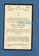 Carte Ancienne De Décés - OBERCORN / OBERKORN , Luxembourg - Mme Roger KIES , Née Suzanne KNEBELER - Obituary Notices
