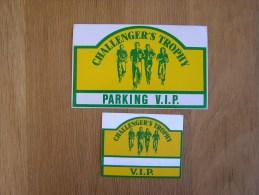 CHALLENGER ´S TROPHY VIP Sport  Souvenirs Autocollant Sticker Autres Collections - Autocollants