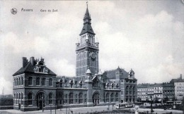 ANVERS Gare Du Sud Strassenbahn 1910? - Belgique