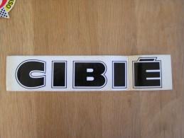 CIBIE Publicité Sport Auto Autocollant Sticker Autres Collections - Autocollants