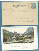 CORTINA D'AMPEZZO COME ERA NELL' 800 - ANNULLO AUSTRIACO 1904 - Non Classificati