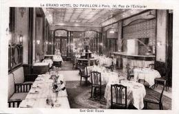 Le Grand Hotel Du Pavillon A Paris Rue De L'Echiquier Son Grill Room 1936? - Hotels & Gaststätten