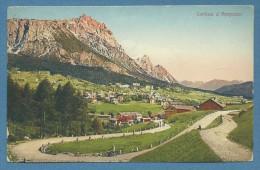 CORTINA D'AMPEZZO RUINE DEL CASTEL DI ZANNA - VIAGGIATA 1924 - Altre Collezioni