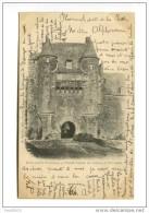 Environs De Ploërmel  Portail D´entrée Du Château De Trécesson  (précurseur) - Ploërmel