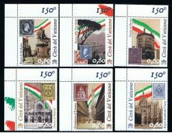2011 - VATICAN - VATICANO - VATIKAN - D11F - MNH SET OF 6 STAMPS ** - Vatican