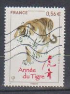 2010 N 4433 ANNEE DU TIGRE OBLITERE #222# - Frankreich