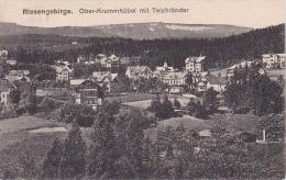 AK Karpacz Ober-Krummhübel Mit Teichränder - 1923 (5250) - Schlesien