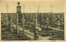 Heldenfriedhof In Plotycza An Der Strypafront 1916 - Feldpost, War Cemetery WW I Postcard 109 - Cimiteri Militari
