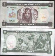 ERITREA 1 NAKFA 1997 UNC FDS AFRICA - Eritrea