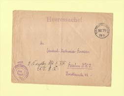 Feldpoststation Nr 79 - Hirson - Hopital Militaire - Marcofilie (Brieven)