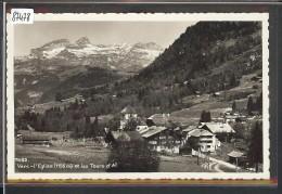DISTRICT D´AIGLE /// VERS L'EGLISE - TB - VD Vaud