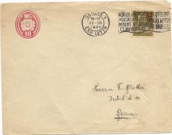 1921 10 Rp. Tüblibrief Mit 10 Rp. Tell Zusatzfrankatur! - Ganzsachen