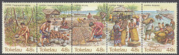 TOKELAU, 1984 COPRA STRIP 5 MNH - Tokelau
