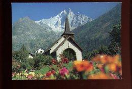 966 Chapelle Des Praz L´aiguille Verte Et Les Drus - France