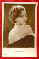 "GRETA GARBO 3562/1 PUBLISHER GERMANY ""ROSS"" VINTAGE PHOTO POSTCARD W2481 - Actors"