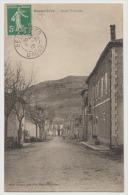 CPA 26 Drôme Beaurières La Route Nationale Henri Galland éditeur Près Luc En Diois Die Aspres Sur Buech - Altri Comuni