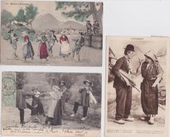 - 8 CPA  L ´ AUVERGNE  HUMORISTIQUE  - Toutes Scanées - Postkaarten