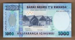 RWANDA - 1000 Franc 2008 SC  P-31 - Rwanda