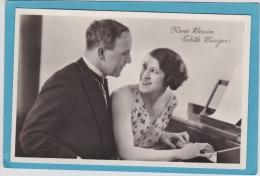 14 /  6 / 49  -  RENÉ  BERSIN  ÉDITH  BURGER  - DISQUES  PERFECTAPHONE - Musique Et Musiciens