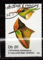 St Tomé Et Principe, Bird, Oiseau, Coquette Adorable - Sao Tome Et Principe