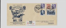 AEROGRAMME « Cinquantenaire ADER » (S. 1947 N°98/Ind.4)PARIS – Bureau N°34 « Musée Galliera &raq - Airmail