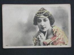 Ref2806 WA Carte Photo Réhaussée De Otero - Reutlinger 193/7 Paris SIP - Artiste De La Belle Epoque - Artistas