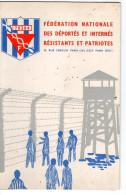 Calendrier 1966- Fédération Nationale Des Déportés Et Internés Résistants Patriotes - Calendriers