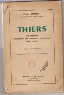 THIERS,les Origines,l'évolution Des Industries, Leur Avenir De Paul Combe- Edit.G.de Bussac- Clermont-Ferrand - Livres, BD, Revues
